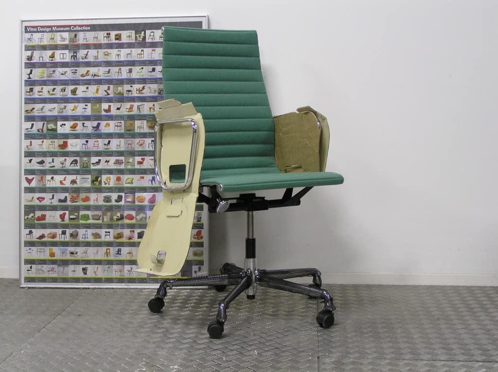 Vitra eames ea 119 weidegroen bos hopsak 2017 dodesign - Originele eames fauteuil ...