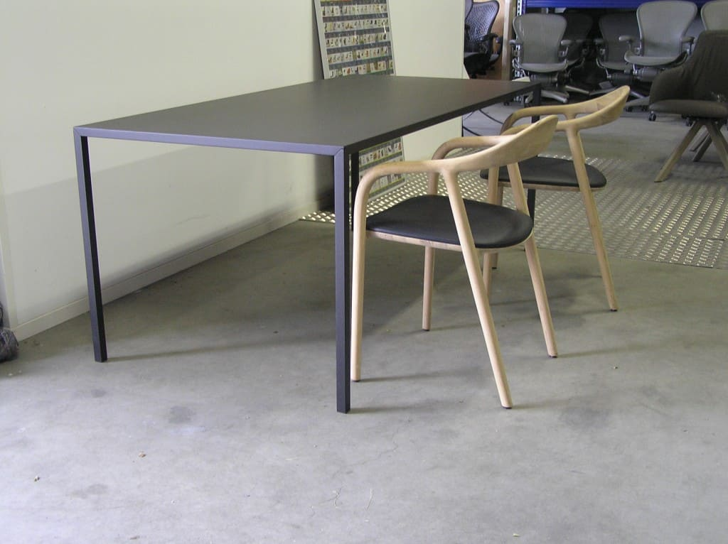 Nieuwe arco slim tafel eiken morado cm u dodesign
