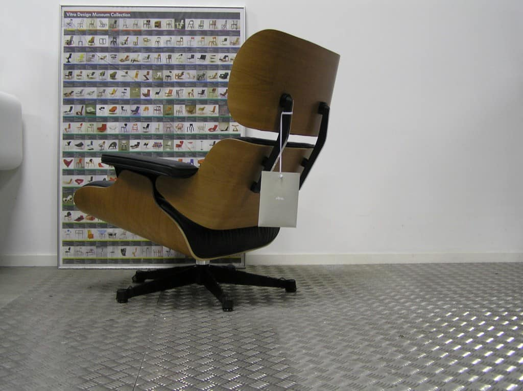 Awe Inspiring Vitra Eames Lounge Chair Amerikaans Kersen 2019 Pabps2019 Chair Design Images Pabps2019Com