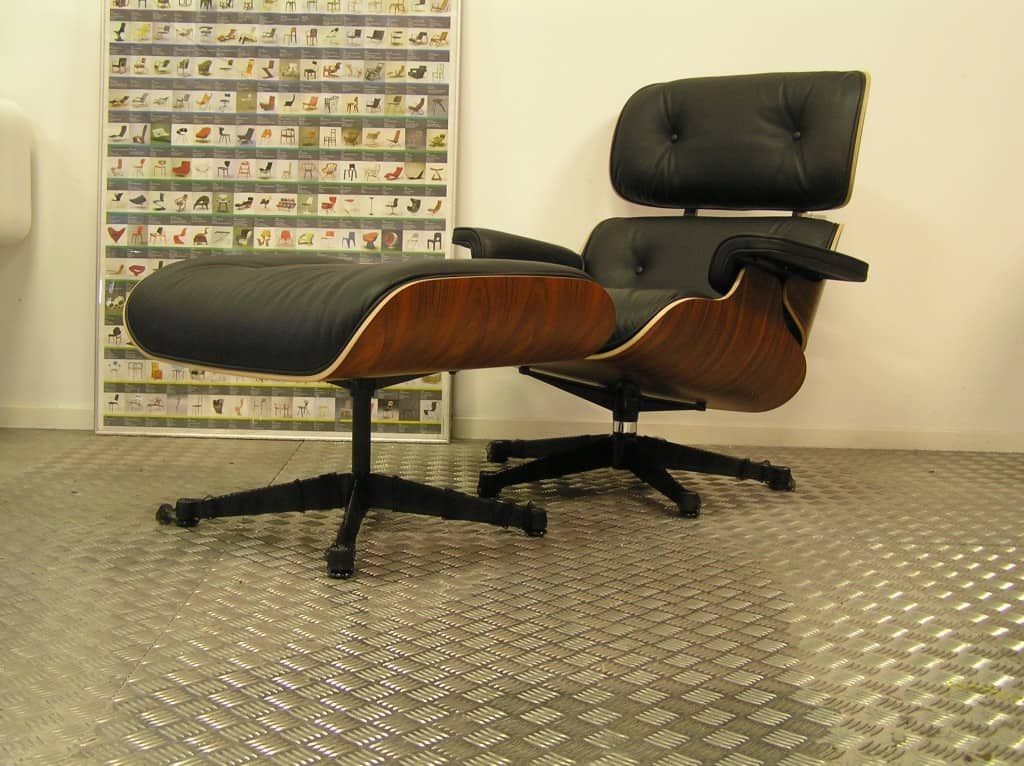 Superb Vitra Eames Lounge Chair Met Ottoman Palissander 2019 Pabps2019 Chair Design Images Pabps2019Com