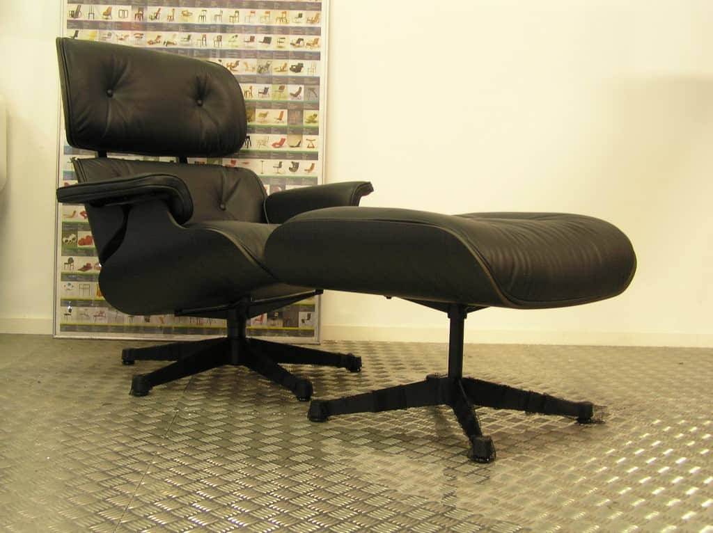 Fantastic Vitra Eames Lounge Chair Met Ottoman Zwart Essen 2019 Pabps2019 Chair Design Images Pabps2019Com